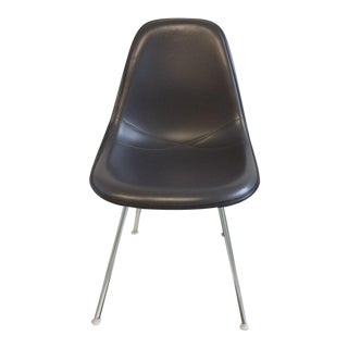 Eames Padded Molded Fiberglass Chair - dark grey