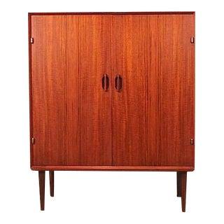 Vintage Henry Walter Klein Danish Teak Cabinet