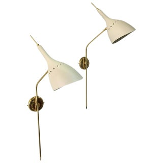 Pair of Oscar Torlasco Style Italian Wall Sconces