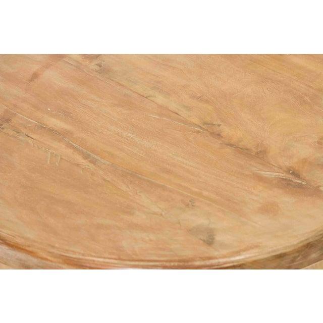 Image of Round Teak Cricket Table