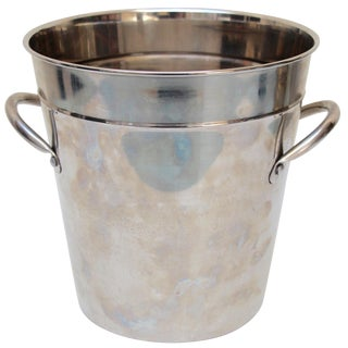 Silverplated Ice Bucket with Handles