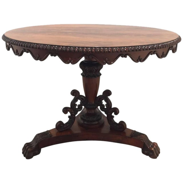 Image of 1860s Victorian Center Table
