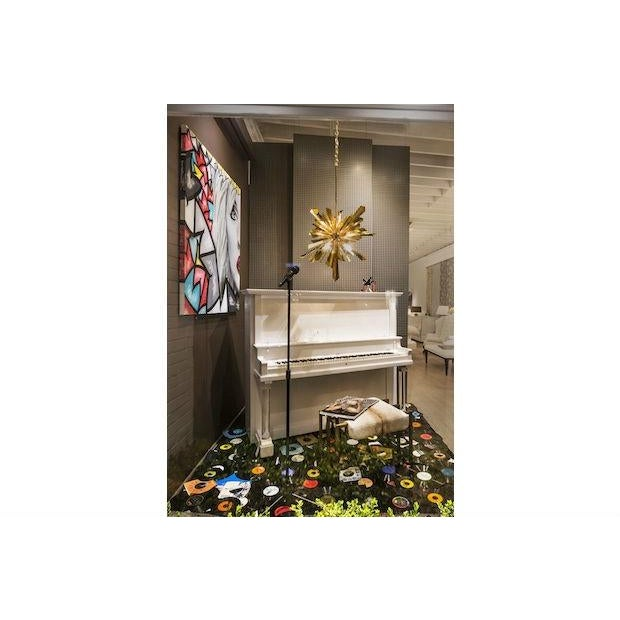 Vintage Lacquered White Piano - Image 9 of 10