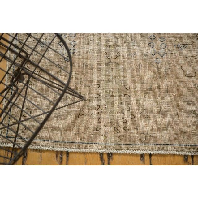 "Vintage Distressed Meshed Rug - 2'5"" X 4'3"" - Image 4 of 10"