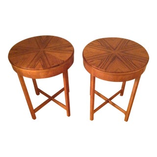 Mid-Century Baker Furniture Company Side Tables