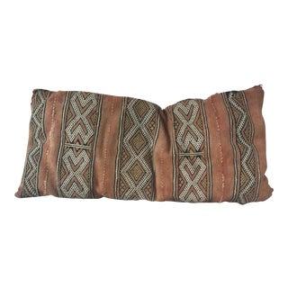 Vintage Moroccan Lumbar Pillow