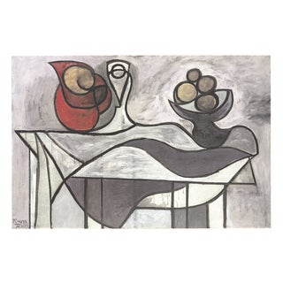 Pitcher and Bowl of Fruit Poster by Picasso