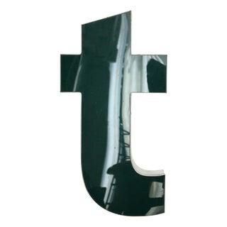 "Lower Case ""T"" Channel Letter"