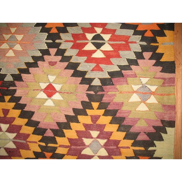Vintage Kilim Rug, 5'9'' X 9'2''