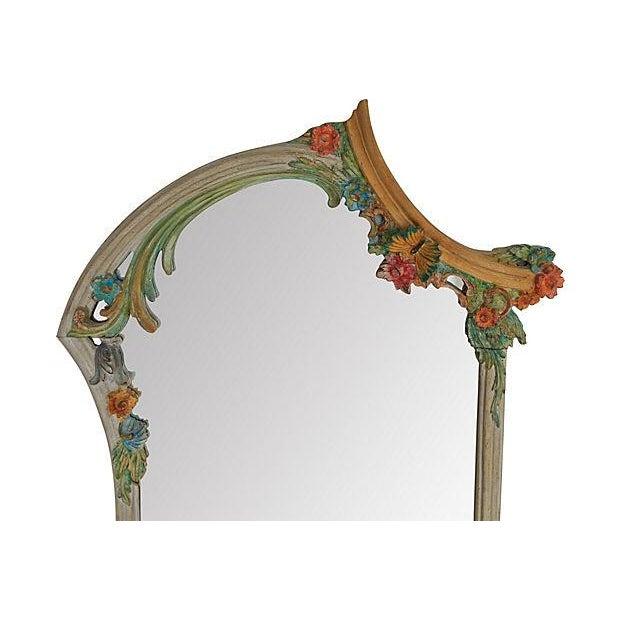 Hand-Painted Italian Mirrors - Pair - Image 2 of 9