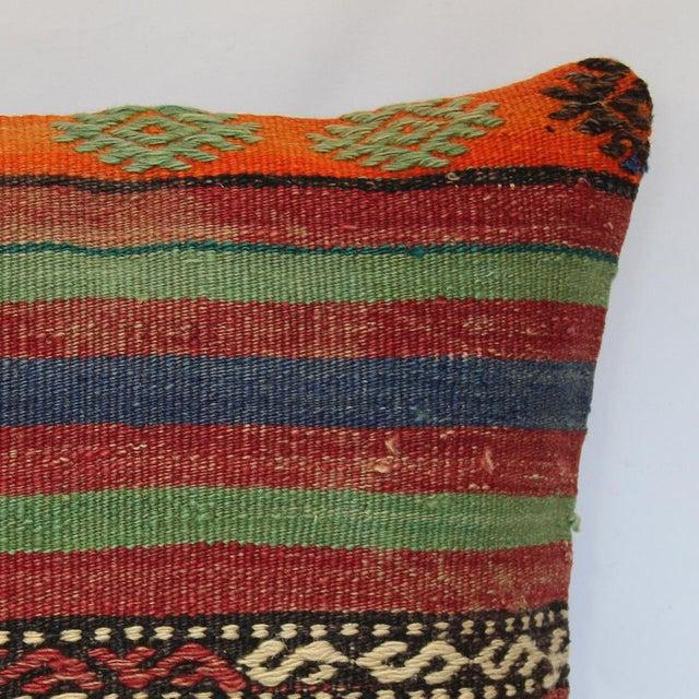 Turkish Handmade Kilim Pillow Cover - Image 3 of 7
