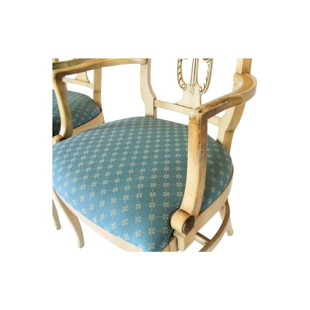 Neoclassical Dining Chairs S/4 - Image 8 of 10