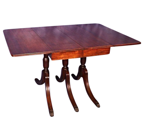 traditional drop-leaf and pembroke tables | chairish