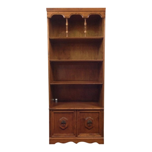 Antique Carved Oak Bookcase - Image 1 of 4