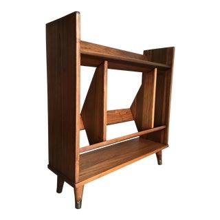 Vintage Mid Century Modern Bookcase