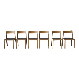 Matthew Hilton DWR Oak Dining Chairs- Set of 6