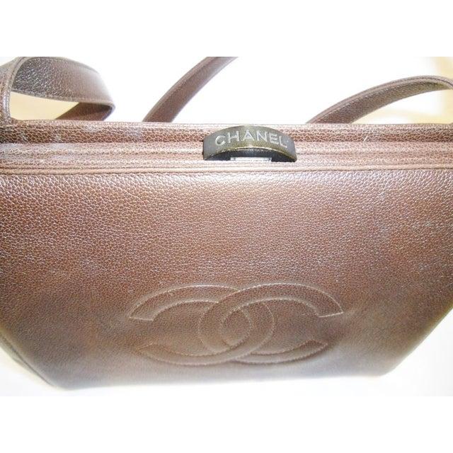 Image of Chanel Caviar Leather Shoulder Bag