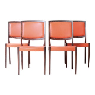 Swedish Rosewood Dining Chairs by Svegards - S/4