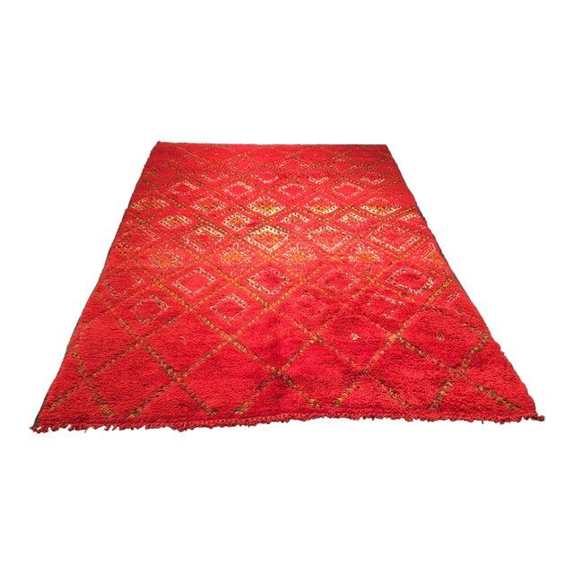 """Bellwether Rugs Organic Wool Beni Orin Moroccan Rug - 5'10""""x8'7"""" - Image 1 of 8"""