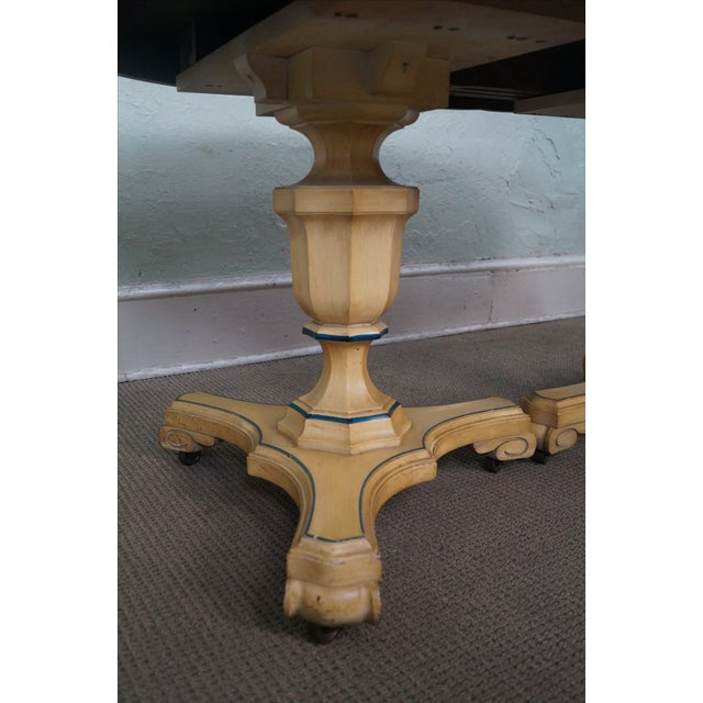 Vintage Louis XV Double Pedestal Dining Table - Image 3 of 10