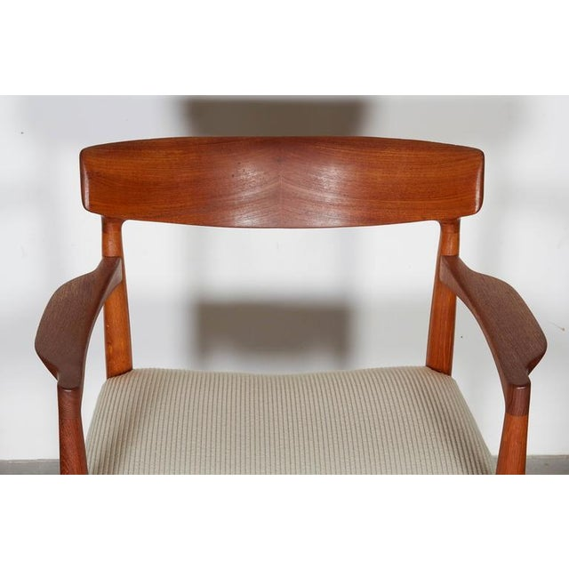 Danish Modern Arm Chairs by Knud Faerch, Pair - Image 6 of 8