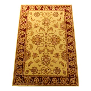 Traditional Floral Turkish Rug - 5' x 8'