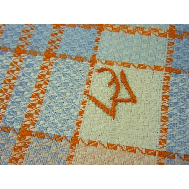 Multicolor Linen Monogrammed Towels - Set of 6 - Image 5 of 6