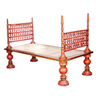 Antique Spindle Daybed