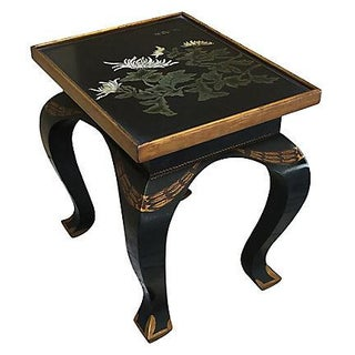 Lacquered Side Table