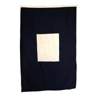 "Vintage ""P"" Nautical Flag"