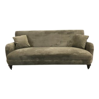 Luxe Down Velvet Sofa