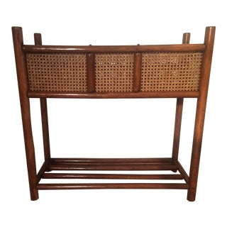 Rattan & Wicker Plant Stand