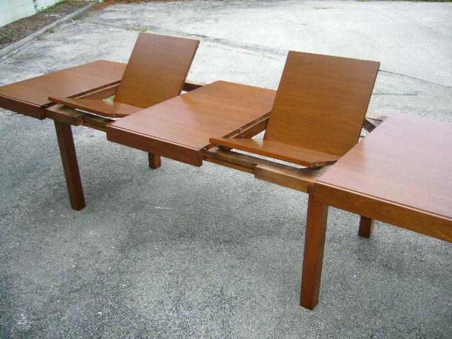 Classic Early George Nelson Walnut Dining Table   Image 7 Of 11