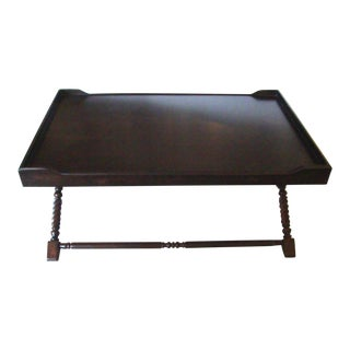 English Butler's Tray Coffee Table