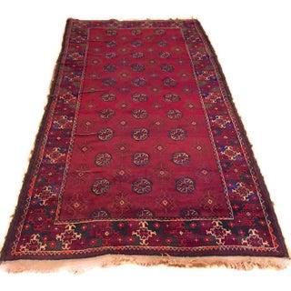Semi-Antique Persian Tribal Runner - 4′7″ × 8′9″
