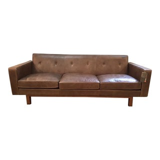 Gus Modern Leather Embassy Sofa