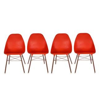 Shell Chairs - Set of 4