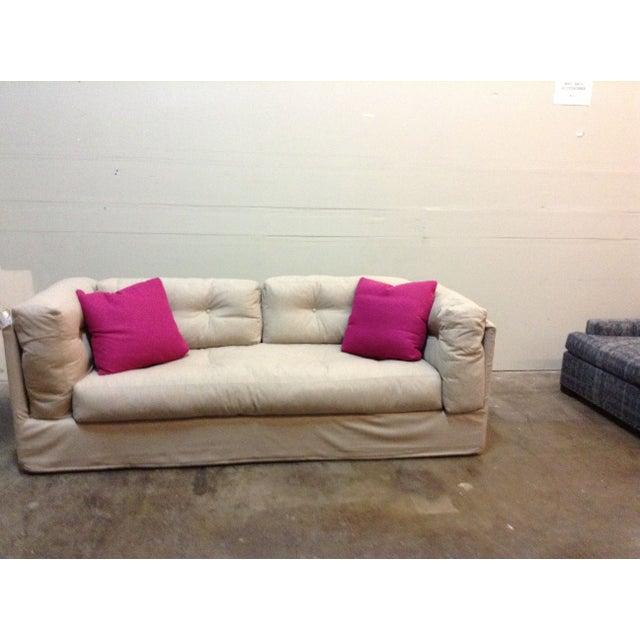 Image of Verellen Harrison Slipcovered Sofa