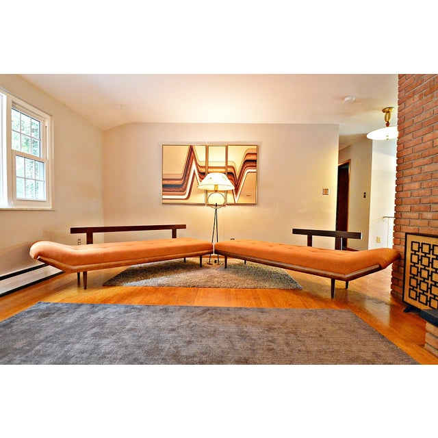 Mid-Century Three-Piece Sectional Sofa - Image 3 of 10