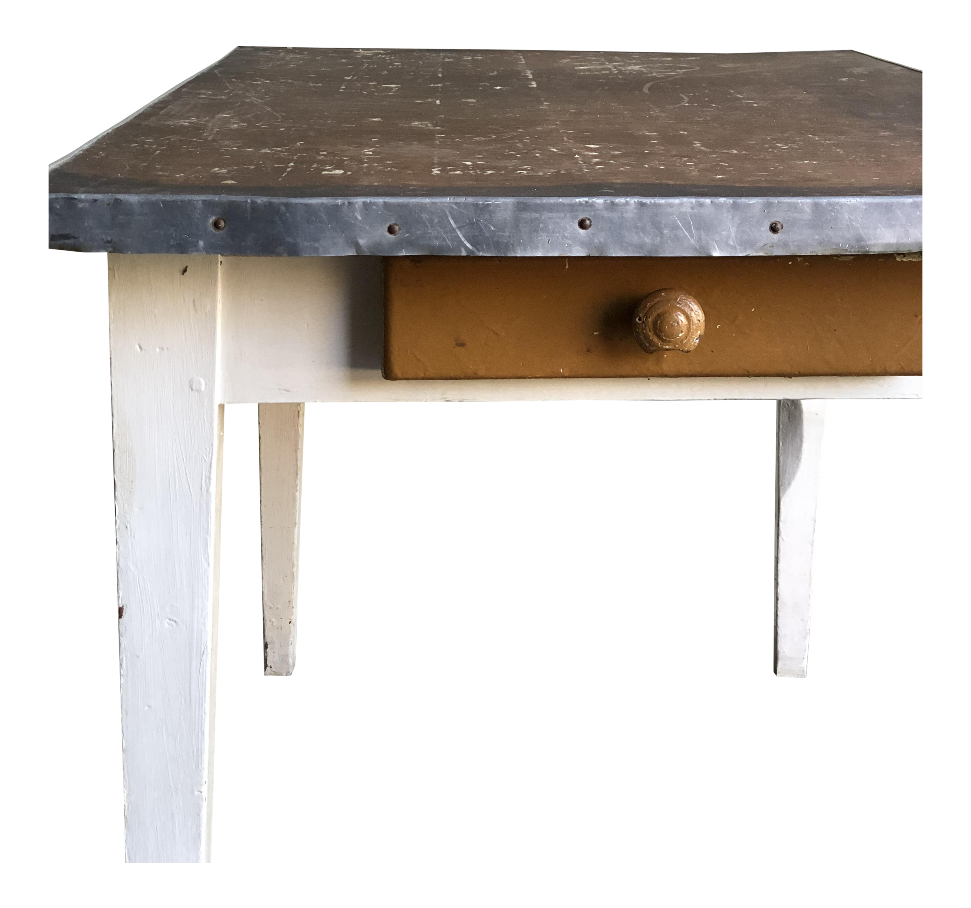 Vintage French Kitchen Table
