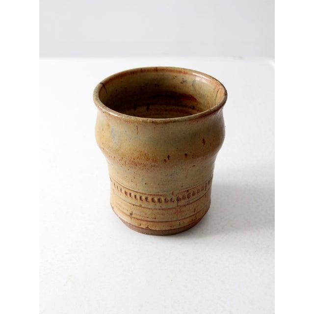 Image of Vintage Artist Studio Pottery Vase