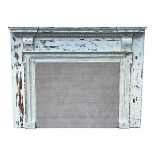 Rustic Mantle King Headboard