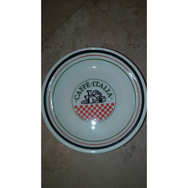 Image of Italian Pottery Pasta Bowls - Set of 4