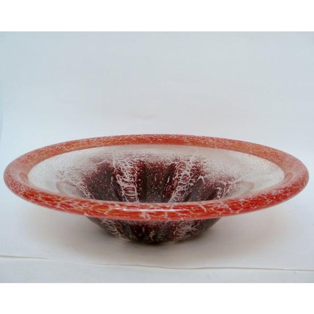 Image of Ikora Glass Centerpiece Bowl