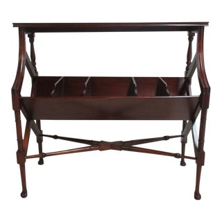 Antiquel Table Magazine Rack