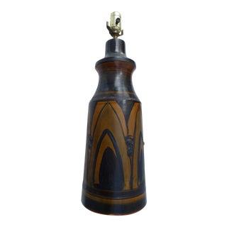 Hanne Stentoj Danish Mid-Century Pottery Table Lamp