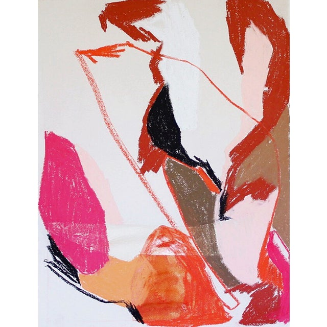 Meredith Bullock Fire Woman Abstract Print - Image 1 of 3