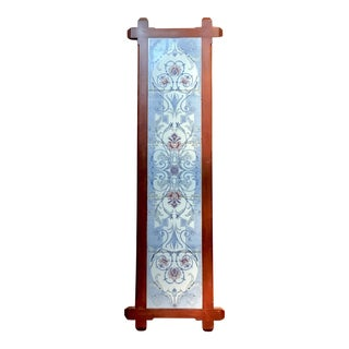 Art Nouveau Tile Wall Hanging