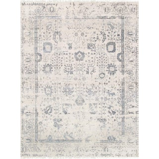 "Pasargad Transitiona Silk & Wool Rug - 8'11"" X 11'11"""