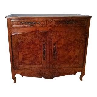Antique French Walnut Sideboard